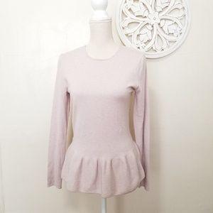 Ann taylor size S peplum sweater